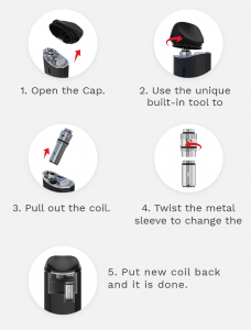 NEXUS NX CCELL COILS 5 Pack