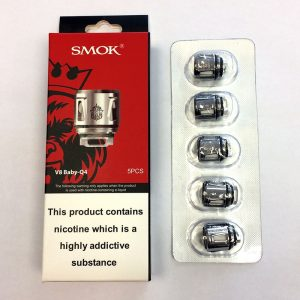 SMOK V8 Baby Q4 0.4 Ohm Coils